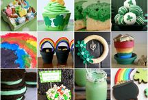 Party Ideas - Shamrocks and Gold