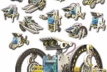Eco Toys / Ekologiczne Zabawki / Wide range of educational toys powered by green energy / Szeroki zakres edukacyjnych zabawek zasilanych energią odnawialną.