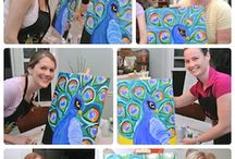 {Painting party ideas} / by Heather Smith