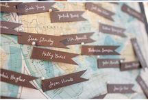 Esküvő - Utazás dekor