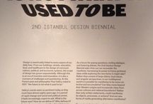 2nd Istanbul Design Biennial - The Future is not what it used to be / @ Galata Rum Okulu