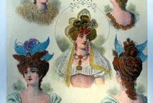 Vintage Graphics Fashions, Accessories, Hats, Shoes and Hair Styles / Clip art and graphics of fashions from the Victorian Era / by Lacy J