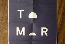 print, design, type / by cat seto