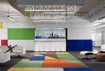 ..colorful office interior designs..