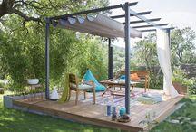 Amenajari gradina sau terasa | terrace garden design | conception terrasse ou jardin