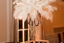 Great Gatsby Wedding / Inspirations for decorating reception inspired by The Great Gatsby Movie
