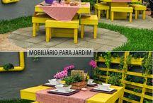 Jardins e varandas
