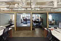 cool office spaces / by Katie Kregel