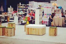 Love my job :-) | behind the scenes / Neem een klein kijkje achter de schermen. Ik plaats hoet foto's van bezoekjes aan merken, showrooms & leveranciers, beurzen en markten en andere tripjes. Ook vind je hier 'peeks' in mijn werkruimte en mini showroom @ home en meer 'stuff'!
