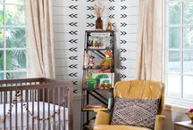 Eclectic Nursery Ideas / If you're looking for collected, curated or just plain non-traditional nursery ideas, check out this board for lots of eclectic inspiration!