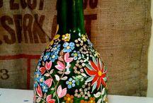 mis botellas lindas