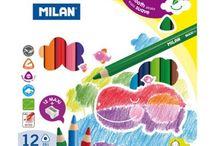 Creioane colorate / Utilizeaza Creioane colorate de calitate pentru a realiza desene spectaculoase.