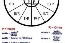cálculos eléctricos y electrónicos