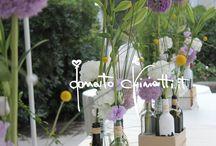 Wedding: Centerpieces & Flowers