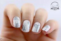 nail art marbre / nail art marbre