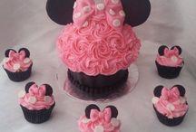 bolo da Minnie Mouse