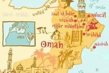 Oman / Een geweldig land waar ik met heel veel plezier gewoond en gewerkt heb en nu nog graag kom.