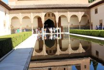 The Alhambra Palaces / One of the oldest examples of Arabic architecture in the world.