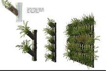muro verde ad elementi