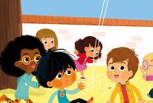 차놀 어린이및 사람 캐릭터 지정