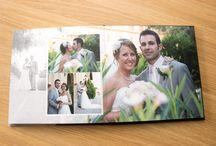 Bespoke Wedding Album Design by White Peacock / Example of my bespoke wedding album designs