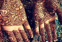 mehndi / by Bushra Shahid