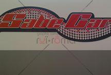 SabeCar - Autofficina / Allestimento grafico per autofficina Committente: SabeCar Realizzazione: Ruï-Rōma & Stamp'art