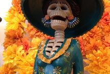 Day of the Dead / November 1st.  A time to celebrate our loved ones who have passed on into ______. / by Pat G-R