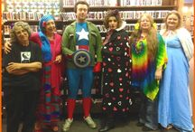 Our Staff <3 Halloween--2014 / Our staff dressing up and enjoying the holiday