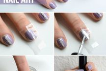 Easy nails/tutorials