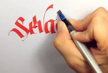 calligraphy video