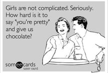 Chocolate Funnies! / Eat chocolate & laugh a little more...