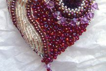 Beaded Beads/Rings/Rosettes/Shapes, etc. / by Denise Wootton