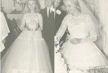 bride/ bridesmaid/flower girl dresses