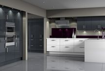 Contemporary Kitchens / Ultra Modern Contemporary Kitchens by Amazing Cabinetry
