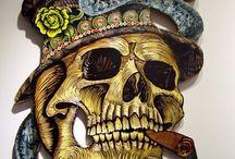 Skull Art / by Borislav Antonov