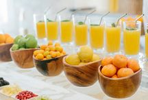 Brunch Wedding Ideas / gorgeous and delicious ideas for a brunch wedding or breakfast wedding
