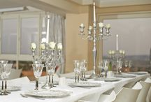 Silver Table for your Event! / Classical Vintage Table.