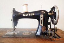 Schwingschiffchen Nähmaschine Kayser J