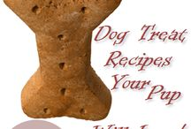 Dog treats / by Wendie The Pantry Doctor