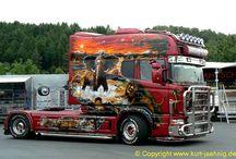Trucker SCANIA EXC 01