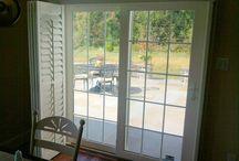 Window coverings / Sliding doors
