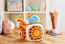 Storage Ideas: Knitting & Crochet Patterns / From storing your crafts to keeping your stationery neat, we've got lots of knitting and crochet storage ideas.