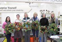 Christmas Wreaths / The Cotswold Gardening School Christmas wreath workshops