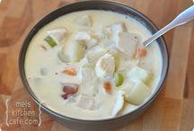 Soups / by Dorene Tobler