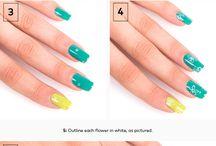 TUTORIELS NAIL-ART / Tutoriels pas à pas pour des ongles tendances.