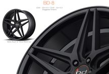 The New BD-8 Wheel – Now Available in Stock / Go to www.blaquediamond.com to order now