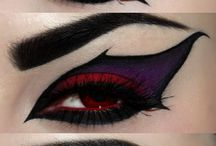 Face Painting/Makeup / Halloween makeup, eyeshadow, lipsticks, eyeliner, eyebrows