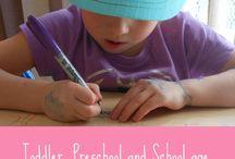Preschool and Kindergarten Writing/Handwriting