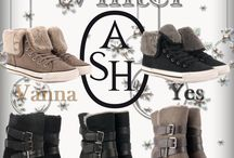 """ASH • Winter Inspo / Getting cold? Keep your feet warm! Our """"Winterproof"""" line"""